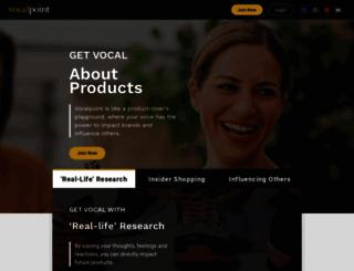 vocalpoint.com screenshot
