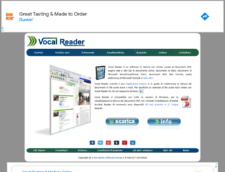 vocalreader.com screenshot