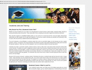 vocationaltrainingandjobs.com screenshot