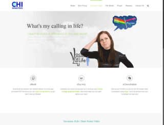 vocations4life.com.au screenshot