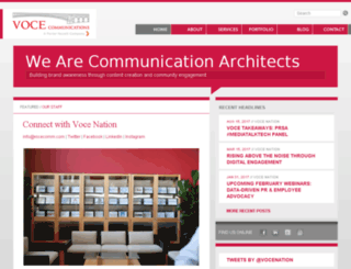 vocecomm.com screenshot