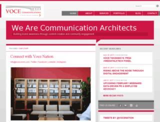 vocecomm.com screenshot