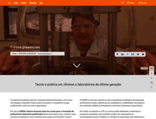 vocenaindustria.com.br screenshot
