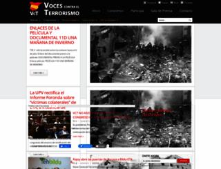 vocescontraelterrorismo.org screenshot