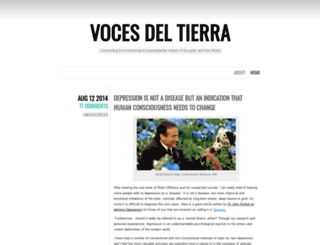vocesdetierra.wordpress.com screenshot