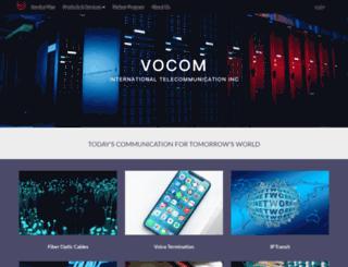 vocom.com screenshot