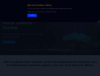 vocus.com.au screenshot
