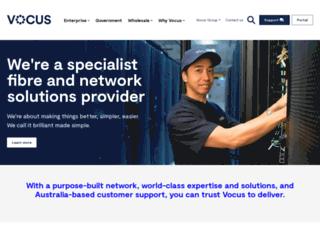 vocus.net screenshot