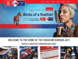 vodacomdurbanjuly.co.za screenshot