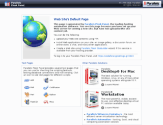 vodafone-greetings.gr screenshot