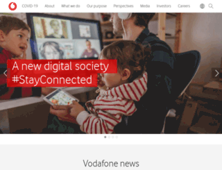 vodafone.co.za screenshot