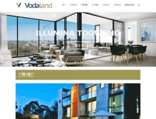 vodaland.zaiau.com screenshot