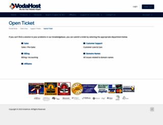 vodasupport.com screenshot