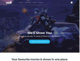 vodi.ca screenshot