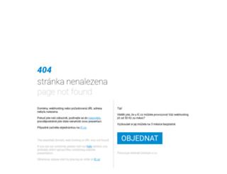 vodnipolo.webpark.cz screenshot