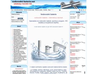 vodovodni-baterie.net screenshot