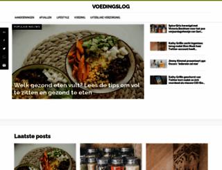 voedingslog.nl screenshot