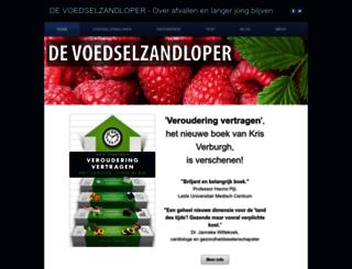 voedselzandloper.com screenshot