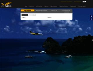 voepassaredo.com.br screenshot