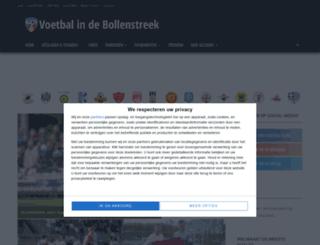 voetbalindebollenstreek.nl screenshot