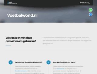 voetbalworld.nl screenshot