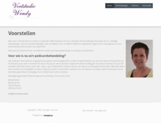 voetstudiowendy.nl screenshot