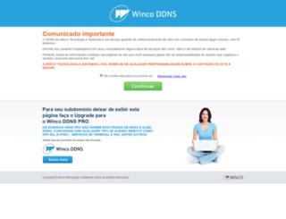 vogel.ddns.com.br screenshot