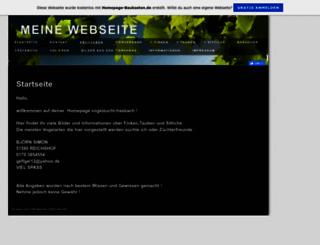 vogelzucht-hasbach.de.tl screenshot