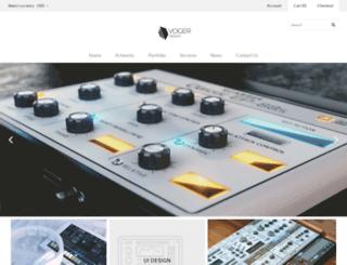 vogerdesign.com screenshot