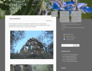 vogliaditerra.com screenshot