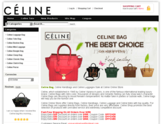voguecelinebag.com screenshot