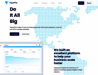 voguepay.com screenshot