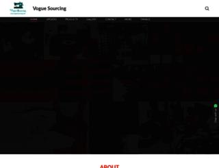 voguesourcing.in screenshot