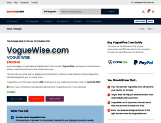 voguewise.com screenshot