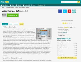 voice-changer-software.soft112.com screenshot