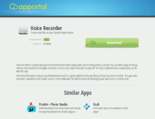 voice-recorder-21.apportal.co screenshot