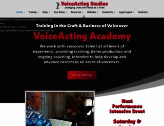 voiceacting.com screenshot
