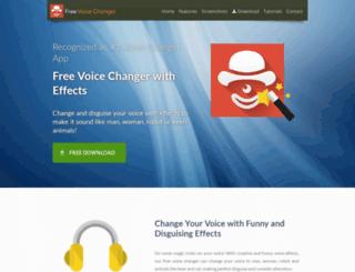 voicechangerwitheffets.com screenshot