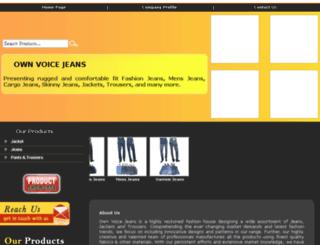 voicejeans.com screenshot