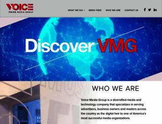 voicemediagroup.com screenshot