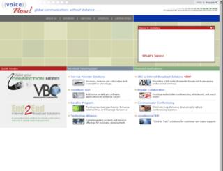 voicenow.com screenshot