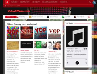 voiceofpaso.com screenshot