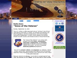 voiceoftheveteran.com screenshot