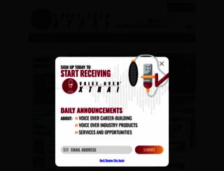 voiceoverxtra.com screenshot
