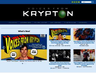 voicesfromkrypton.net screenshot
