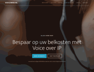 voiceweb.nl screenshot