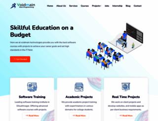 voidmaintechnologies.com screenshot