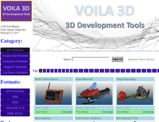 voila3d.com screenshot