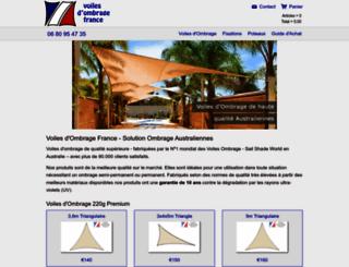 voiledombragefrance.fr screenshot