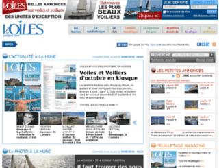 voilesetvoiliers.com screenshot